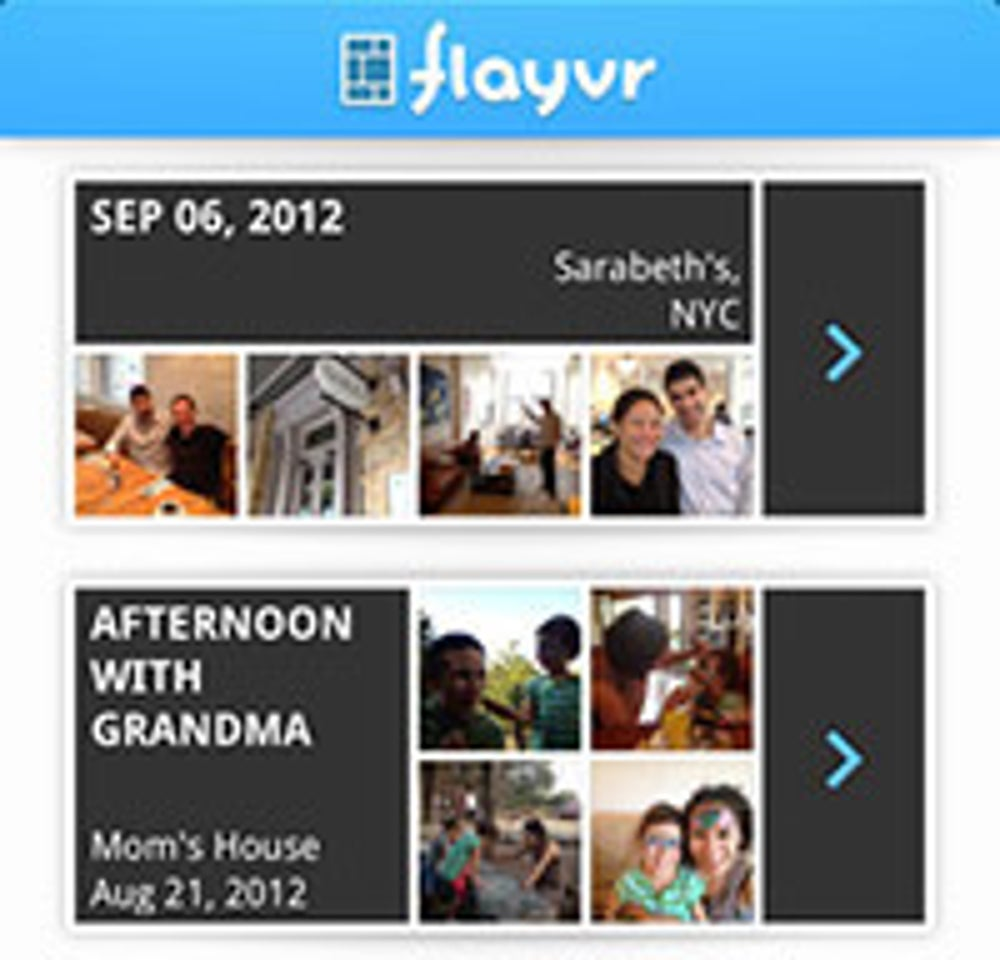 Flayvr, a better way to sort through photos