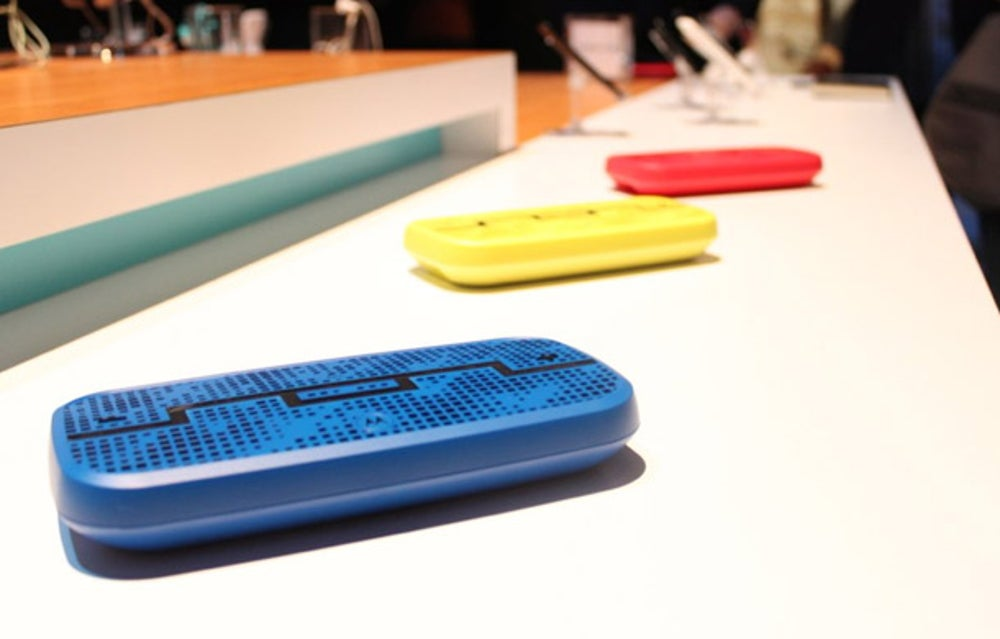 Sol Republic also designed this neat Bluetooth speaker.