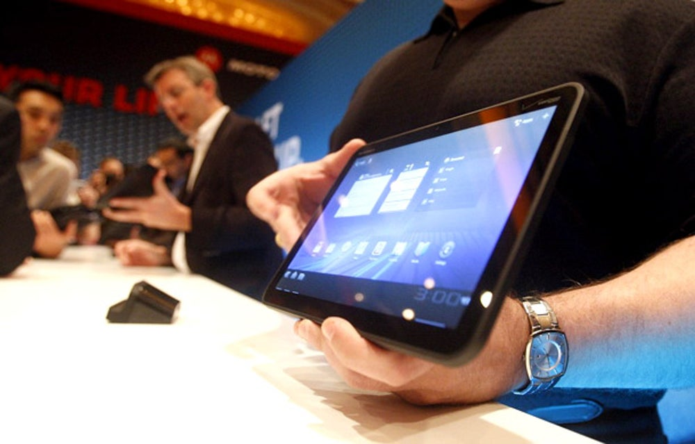 A quick aside: Google attempted to make a tablet-only version of Android called Honeycomb in early 2011. The operating system launched on a tablet from Motorola called the Xoom. Unfortunately, the Xoom and other Honeycomb tablets didn't sell very well.
