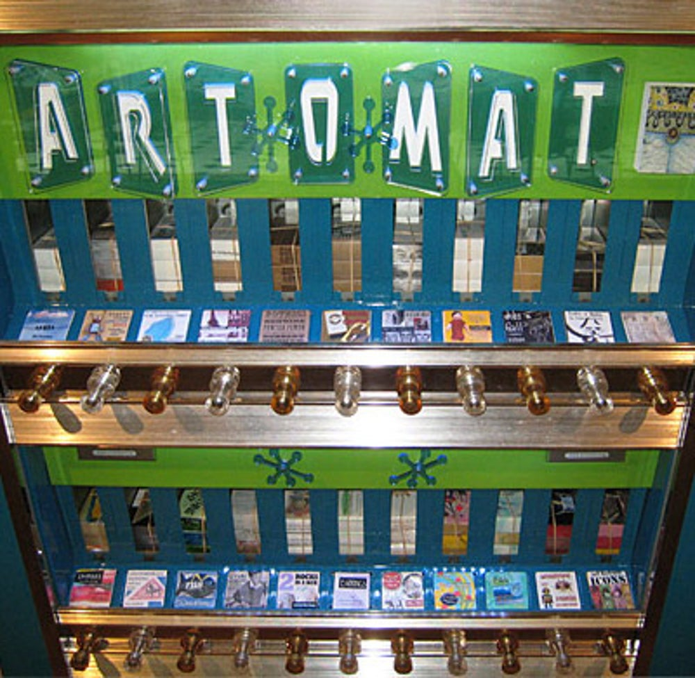 Tiny Works of Art From Art-o-Mat