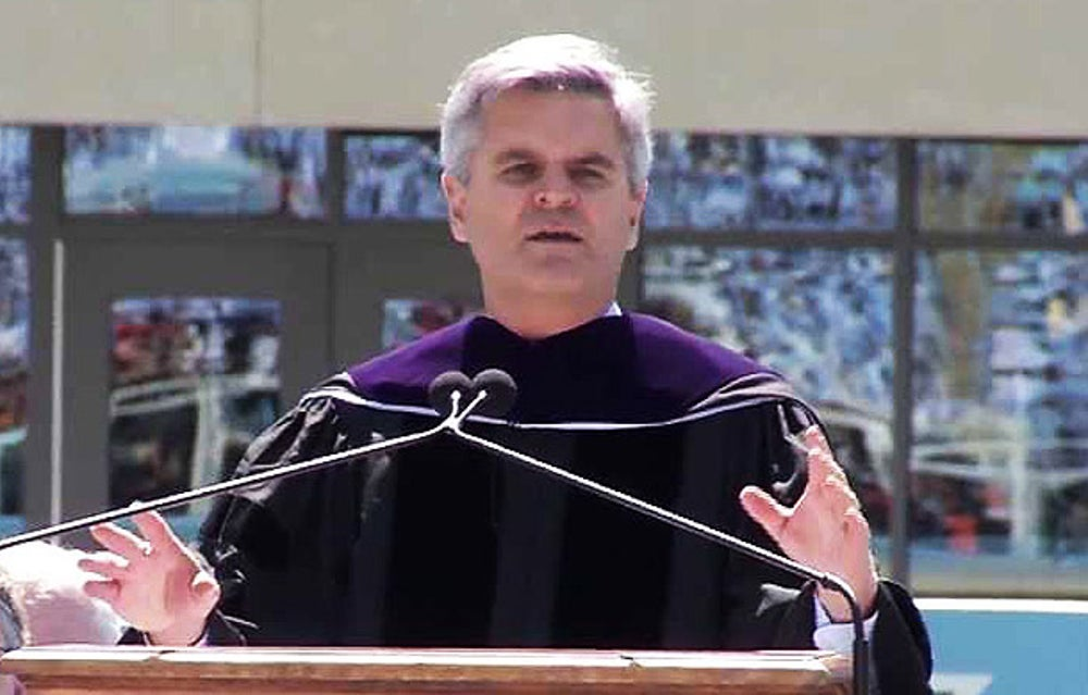 Former CEO of America Online Steve Case at University of North Carolina at Chapel Hill
