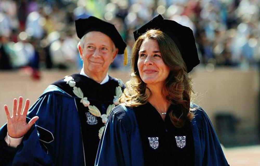 Social entrepreneur Melinda Gates at Duke University