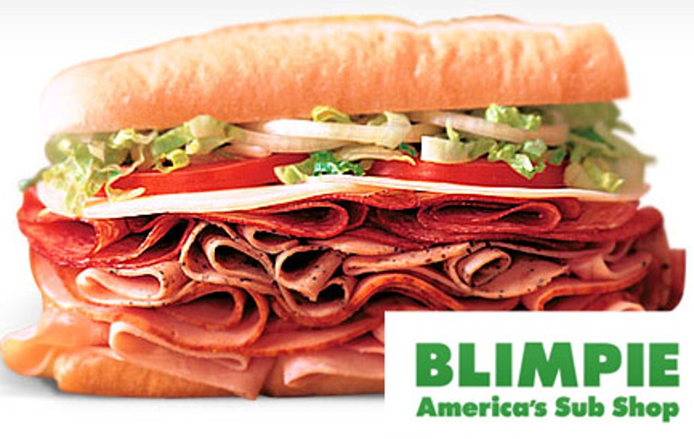 7. Blimpie Subs and Salads