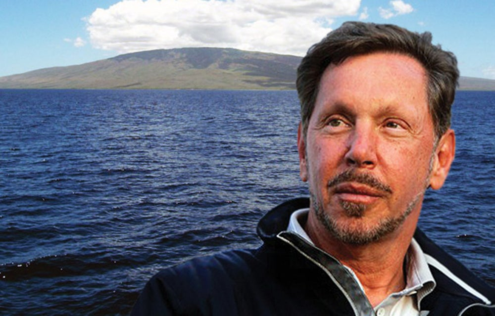 "Oracle's Larry Ellison enjoys ""Napoleon"" by Vincent Cronin"
