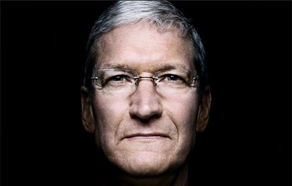 "Apple CEO Tim Cook likes ""Competing Against Time"""