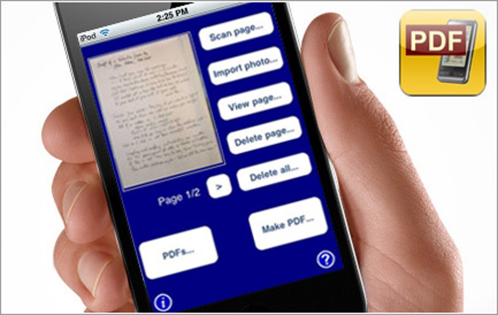 App: Scan2PDF Mobile
