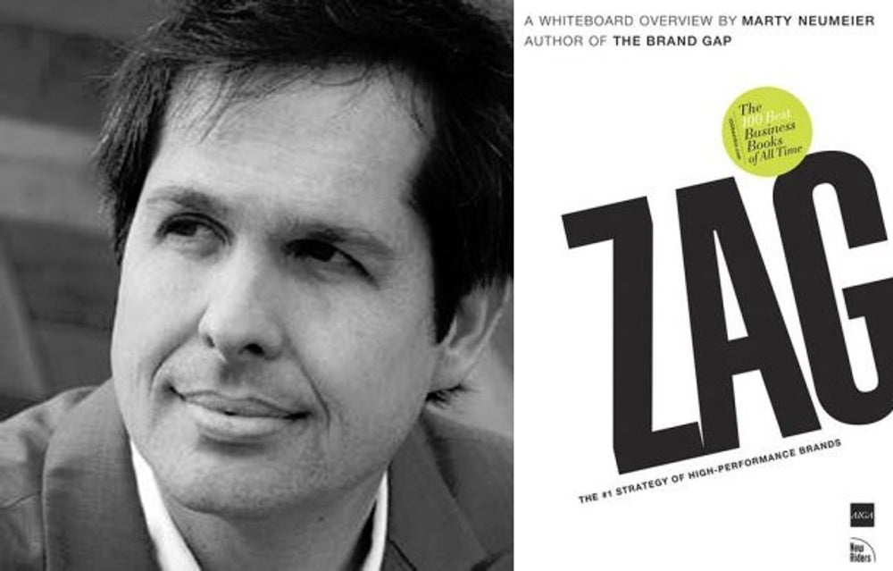 Chris Kocek: 'Zag: The Number One Strategy of High Performance Brands' by Mary Neumeier