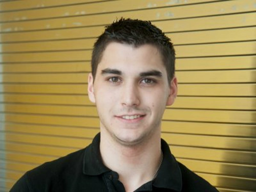 Daniel Zulla is working on a secure computing architecture.