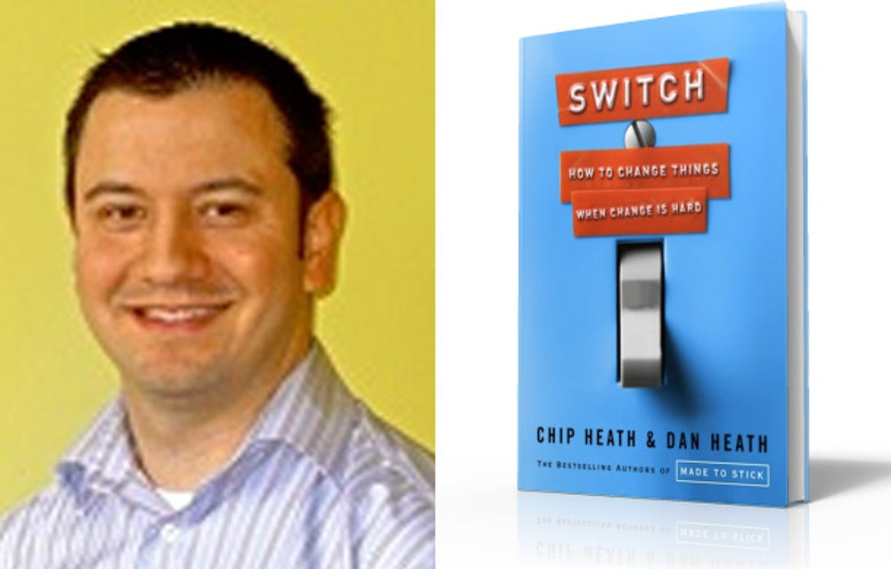 David Koji: 'Switch: How to Change Things When Change Is Hard' by Chip Heath and Dan Heath