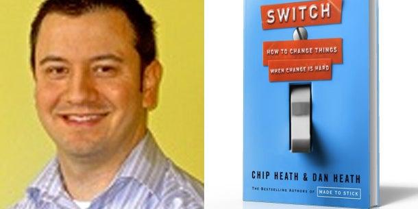 David Koji: 'Switch: How to Change Things When Change Is Hard' by Chip Heath and Dan Heath