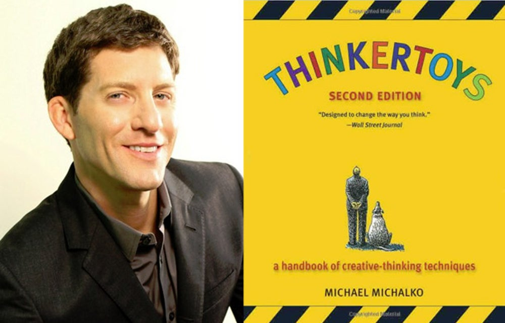 Dave Lavinsky: 'Thinkertoys' by Michael Michalko