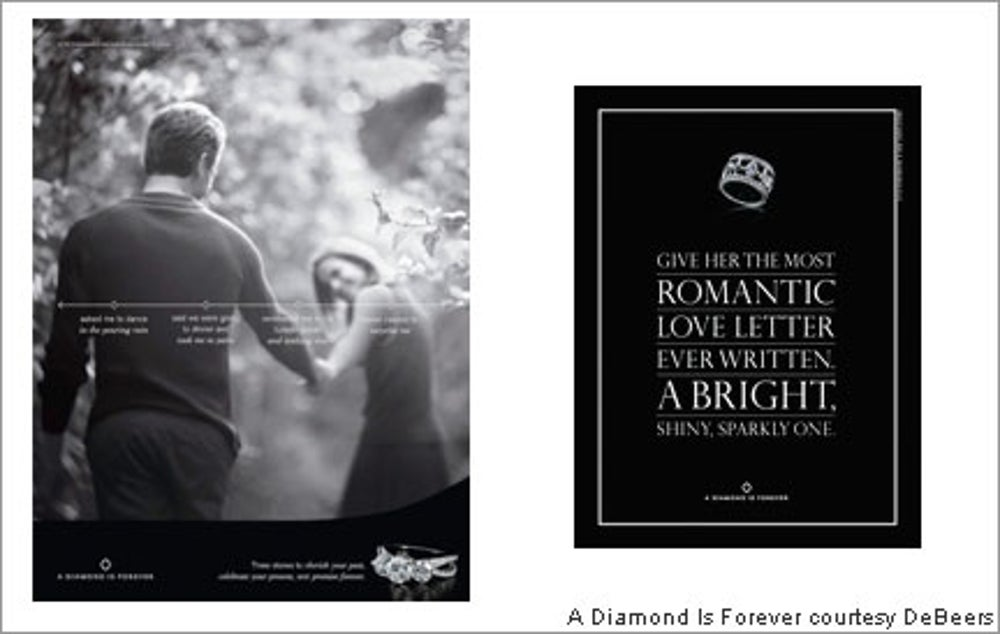 'A diamond is forever'