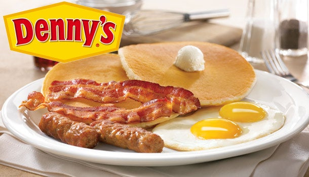 Coupons denny's breakfast