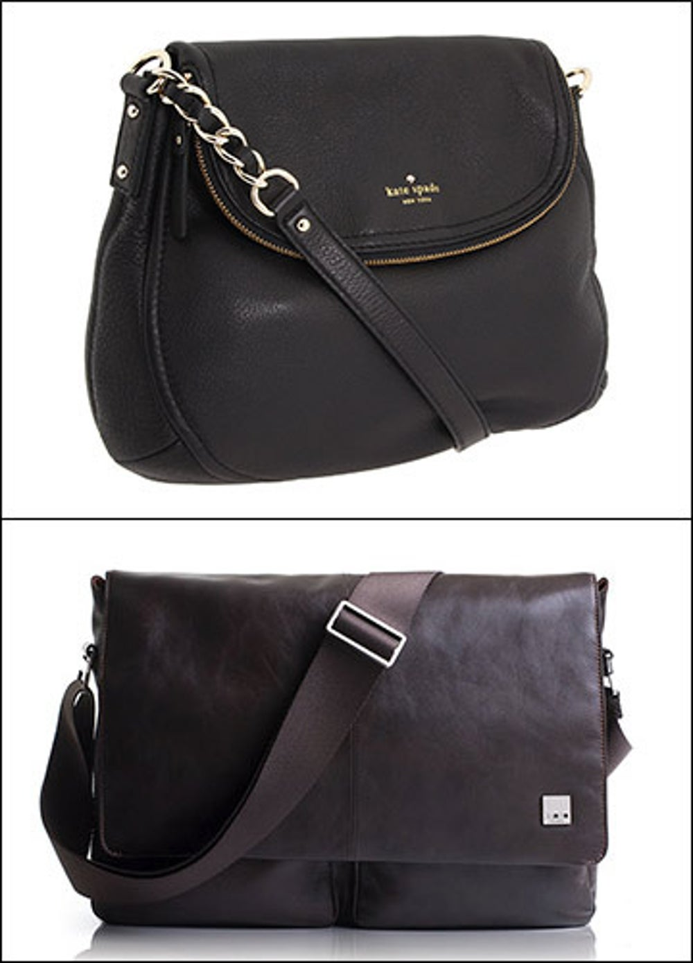 A basic handbag or briefcase.