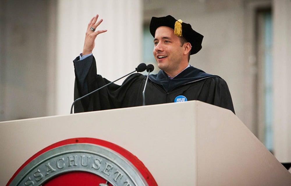 Dropbox CEO Drew Houston at Massachusetts Institute of Technology
