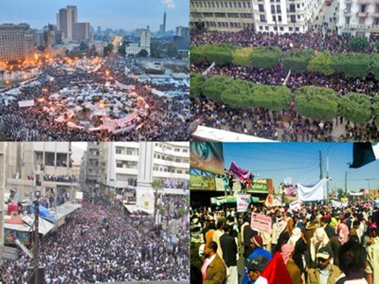 the u s role in arab spring The arab spring, us foreign policy, and the question of   military would have stepped forward and played a more prominent role in  shaping.