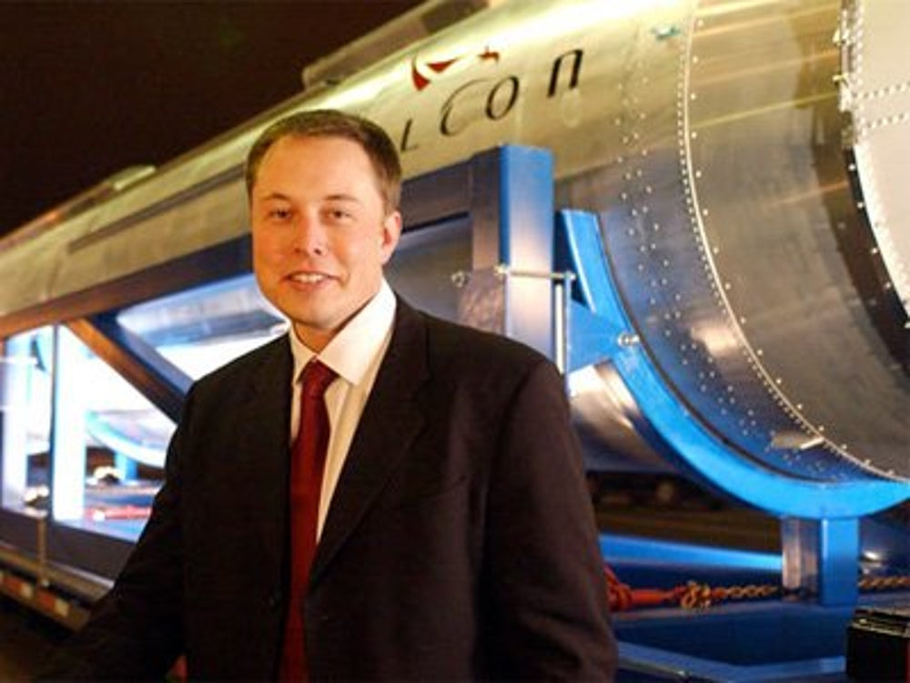 Elon Musk wants his company's spacecrafts to take people to Mars