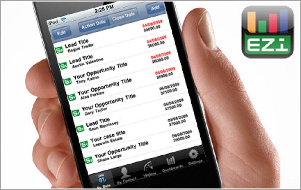 App:  Sales CRM EZi