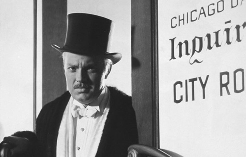 citizen kane charles foster kane In a mansion in xanadu, a vast palatial estate in florida, the elderly charles foster kane is on his deathbed holding a snow globe, he utters a word, rosebud, and dies the globe slips from his hand and smashes on the floor.