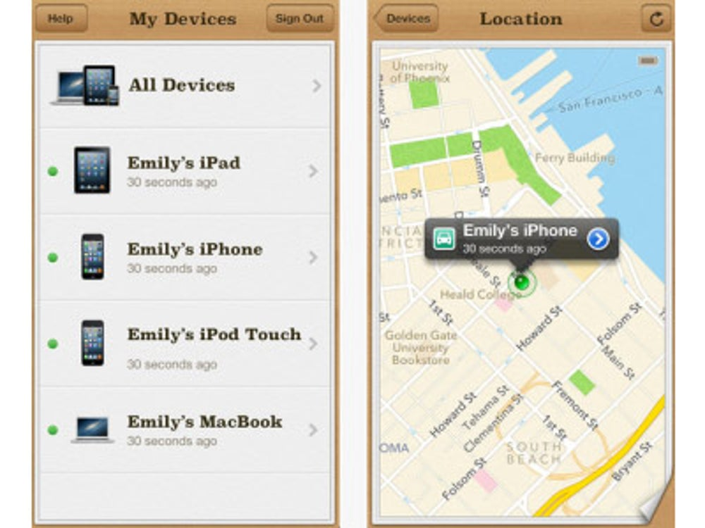 Use Find My iPhone.