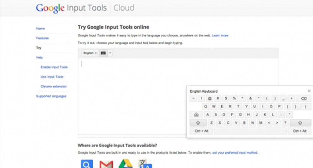 Google Transliterate