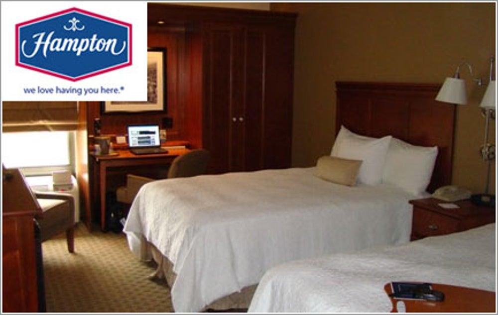 #4: Hampton Inn/Hampton Inn & Suites