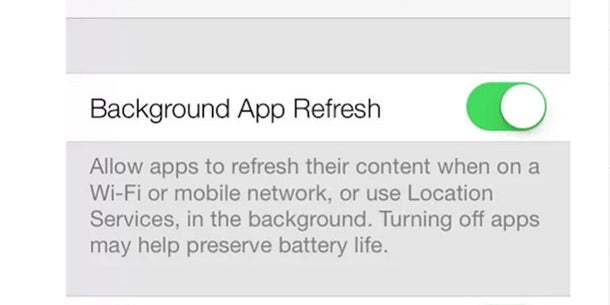 iOS 7 uses a new type of multitasking, which allows apps to run in the background. You can control which apps you want to run in the background in the settings menu.