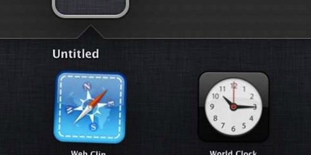There are also rumors that users will be able to create a folder within a folder.