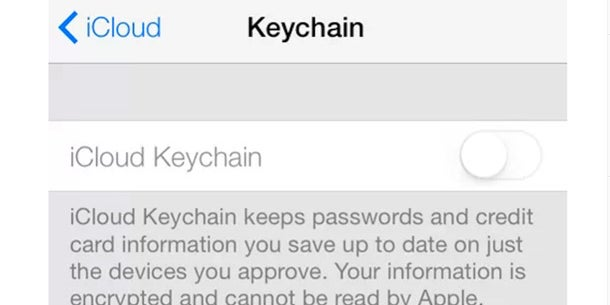 The iCloud keychain stores and encrypts your passwords and credit card information. iCloud keychains then syncs this data across all your devices.