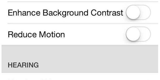 iOS 7's icons subtly move too. If the motion is too much, you can turn it off in the settings menu.
