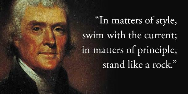 Don't comprise your core values.