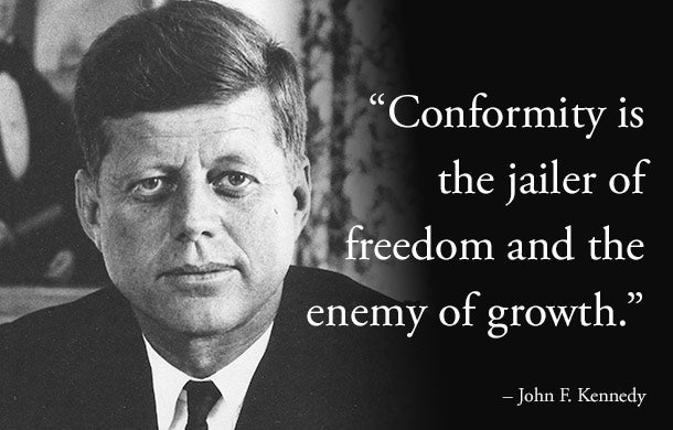 jfk inspirational quotes