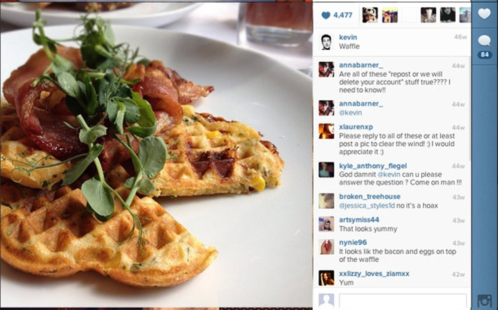 The jetsetting continued. Systrom spent mid-June in London, where he ate this for brunch one morning.