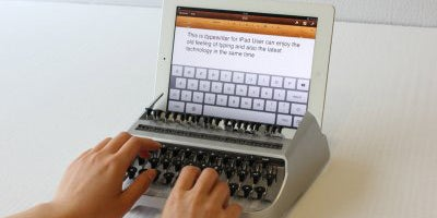 iTypewriter lets you type on your tablet like a modern-day Ernest Hemingway