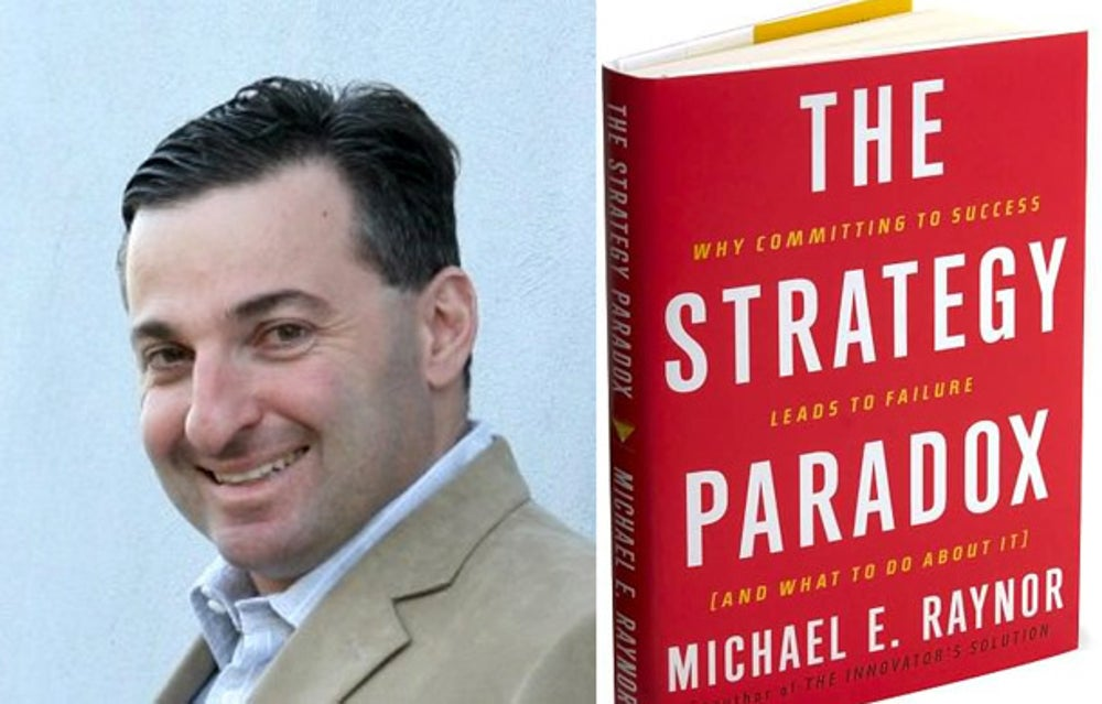 Jay Turo: 'The Strategy Paradox' by Michael Raynor