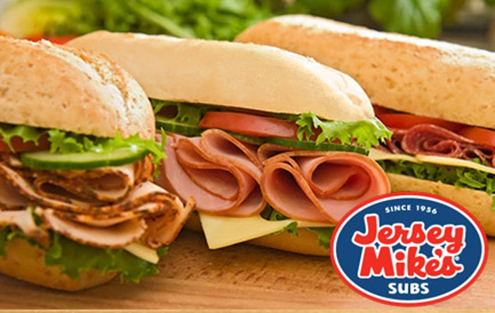 4. Jersey Mike's Subs