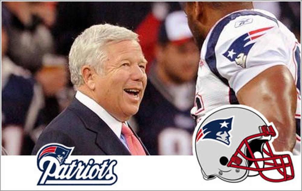 Robert Kraft, New England Patriots