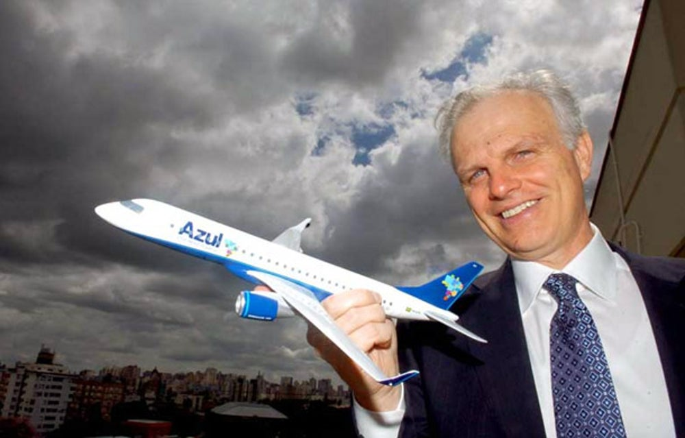 David Neeleman, founder of Jet Blue