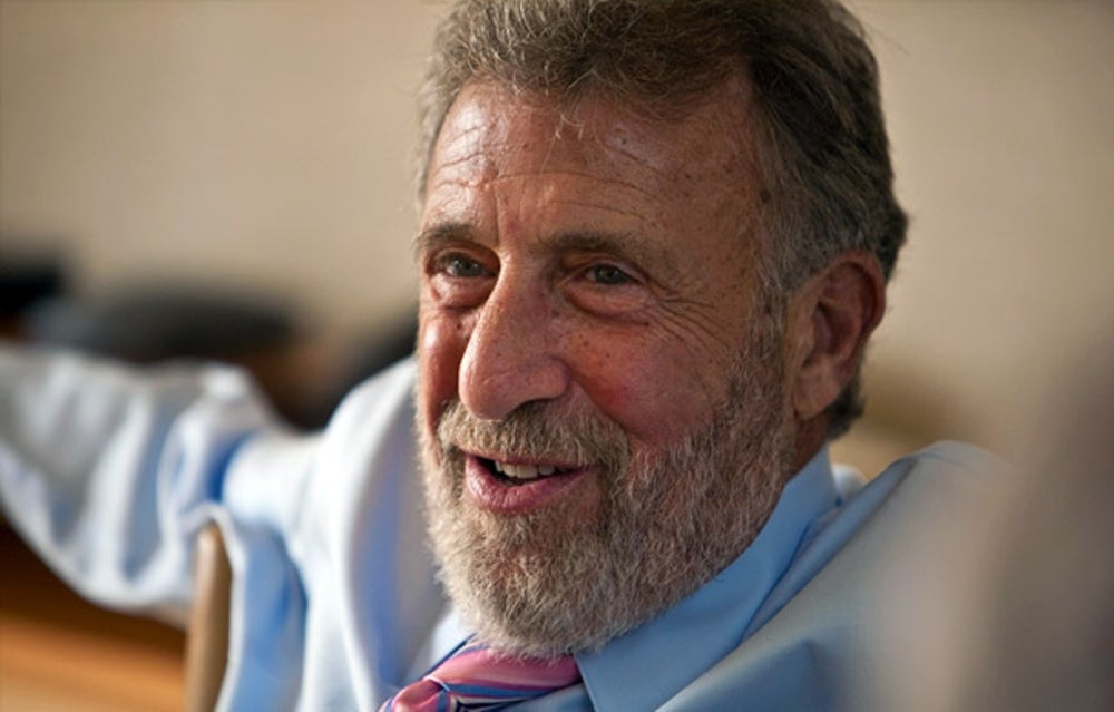George Zimmer, founder of Men's Wearhouse
