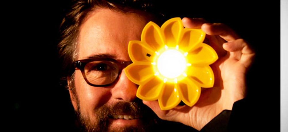 9. Little Sun Solar-Powered Lamp