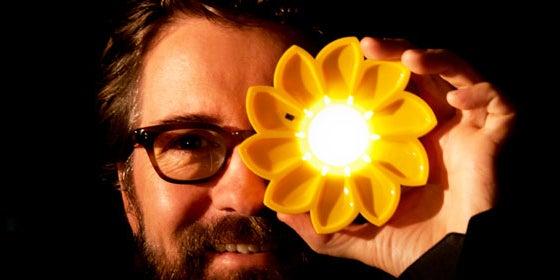 9. Little Sun Solar-Powered Lamp