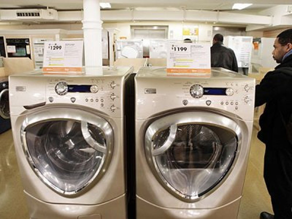 Major household appliance manufacturing