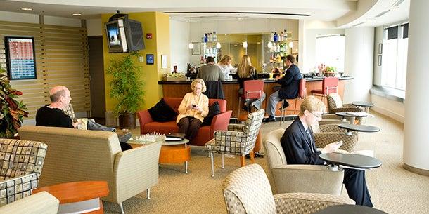 Altitude: A Traveler's Club, Louisville International Airport, Ky.