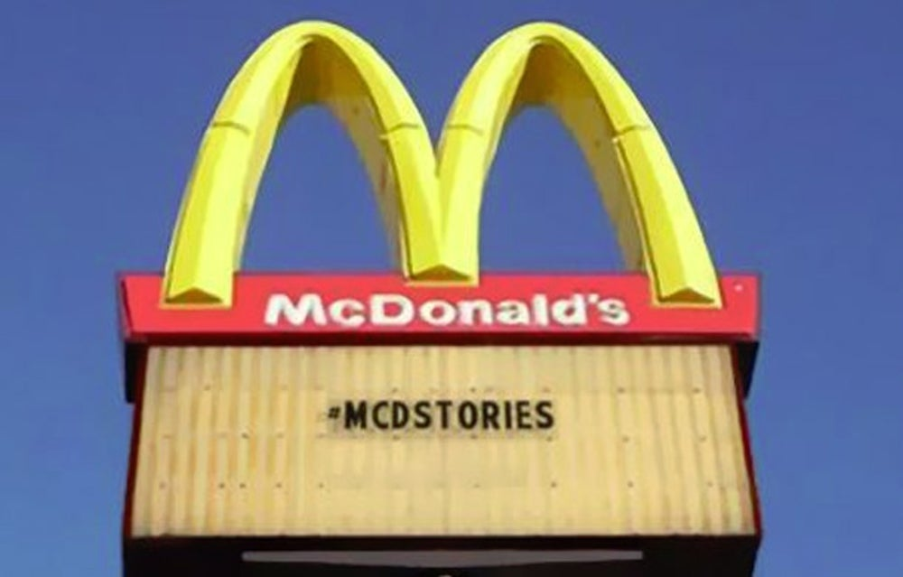 McDonald's Hashtag Horror Stories
