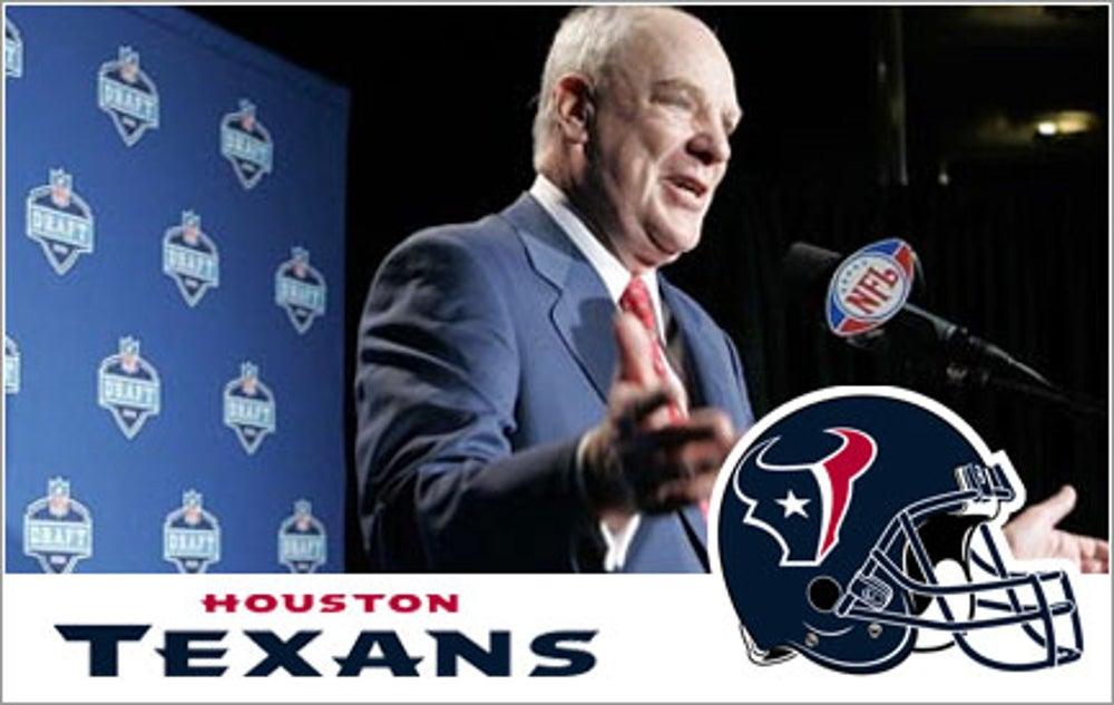 Bob McNair, Houston Texans