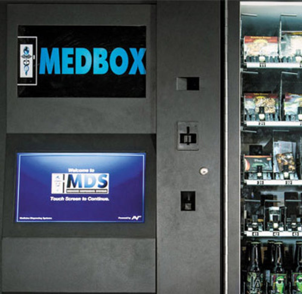 Prescription Drugs From MedBox Vending Machines