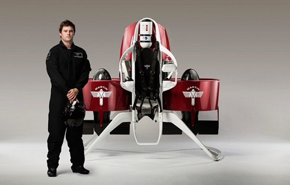 Yes, jetpacks. Seriously.
