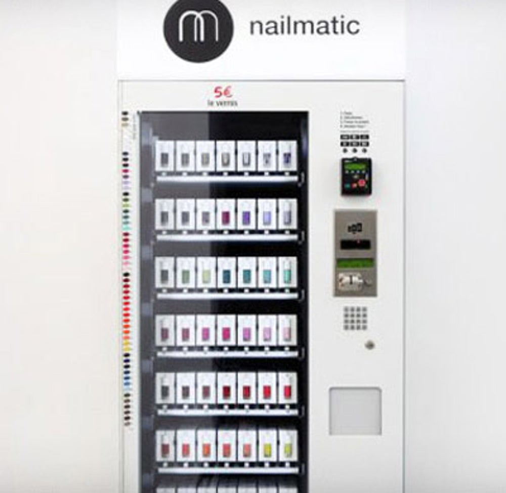 A New Shade of Nail Polish From Nailmatic Nail Polish Vending Machine