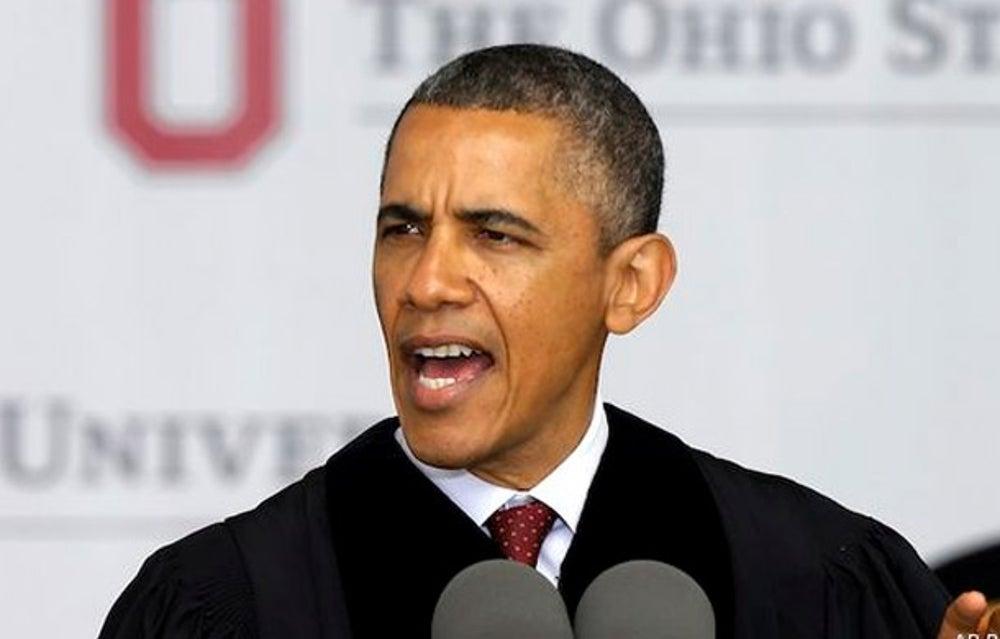 President Barack Obama at Ohio State University