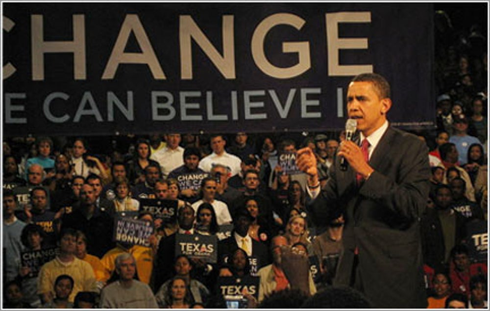 'Change we can believe in